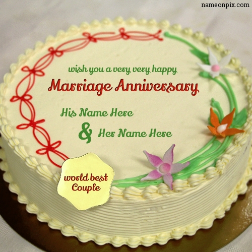 Anniversary Cake For Couple