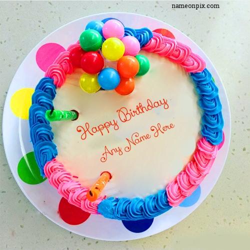 Happy Birthday With Name
